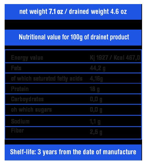 sardina olio